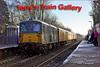 Running through Sandhurst Station are 73107+73138 with the day's 1Q38 from Selhurst to Selhurst via Reading
