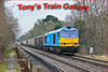 """Climbing the hill away from Sunningdale towards Ascot is 60074 """"Teanage Spirit"""" with empty MRL boxes returning to Whatley fronm Sevington"""