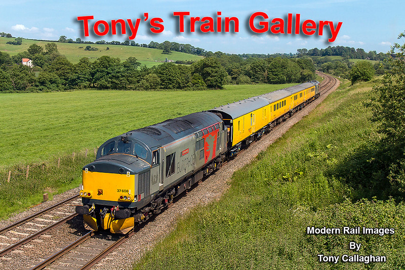 14th Jun 2017:  The star attraction for today was 1Z22 the Network Rail Test train tfrom Derby to Bristol via Weymouth... The reason that so many photographers were out to see it was that the  motive power  was a pair of ROG hire ins   37608 'Andromeda' and 37611 'Pegasus'.  On the outward leg Andromeda is leading as the train runs through Wyke Chnmpflower between Bruton and Castle Carey