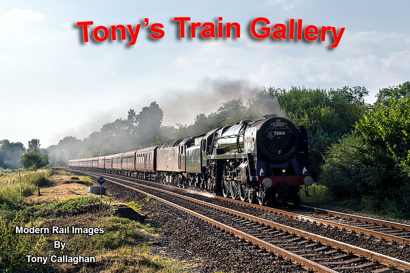 24th Jul 14: The Cathedrals Express returning to Victoria from Bristol Temple Meads  headed by 70013 'Oliver Cromwell' is captured at Sherrington Lane