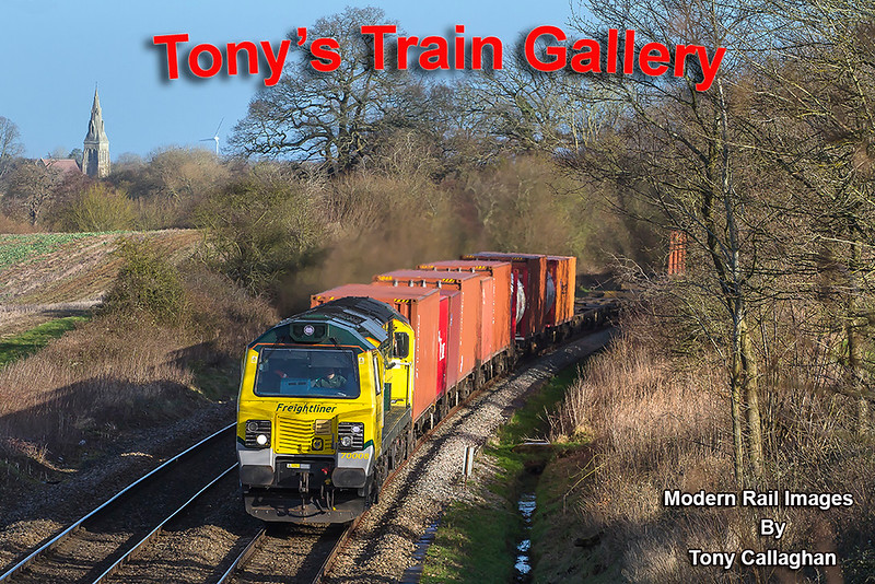 17th Jan 2018:  Leaving Garston at 05.36 with 70008 providing the urge 4O14 to Southampton Maritime is virtualy on time as it runs between Mortimer and Bramley