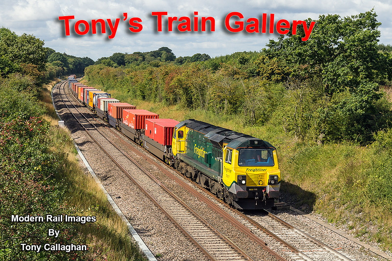 22nd Aug 14:  Captured at Hay Lane near Swindon is 70017 on the point of 4O51 from Wentloog to Southampton