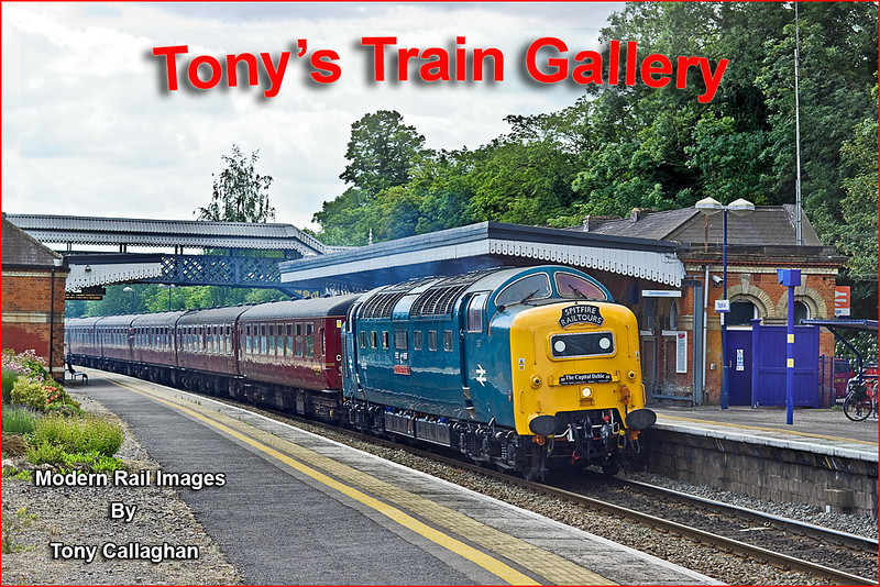 """On the return leg of Spitfire Tours """"The Capital Deltic"""" from Preston to Oxford 55022 charges through Taplow"""