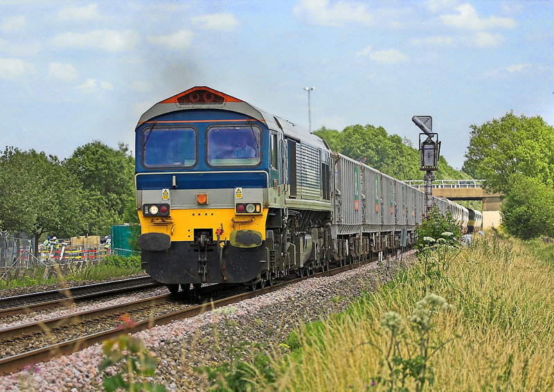 22nd Jun : 59104 leads 6C77 Empty Stone from Acton to Merehead