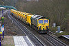 14th Apr 06: 66508 heads for Reading with the High Output Ballast Cleaner