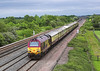 28th May 06:  67020 brings the Orient Express down the loop towards Challow