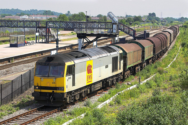 9th Jun 06: 60015, 6V35, Loaded steel from Lackenby to Llanwern
