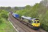 6th May 06:  66567 plies the 4O27 from Ditton to Southampton through Sherrington