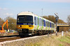 6th Apr 06:  166221. 13.18 Paddington to Bedwyn slows for the THeale stop