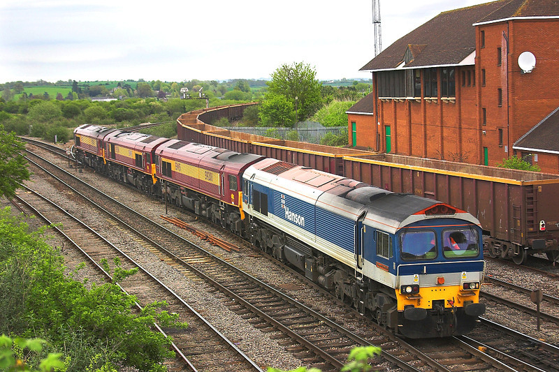 6th May 06:  59101 leads 59201, 206 & 204 from the B & H line