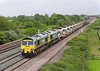 28th May 06:  66510/66952 Head West with a Network Rail loaded ballast train