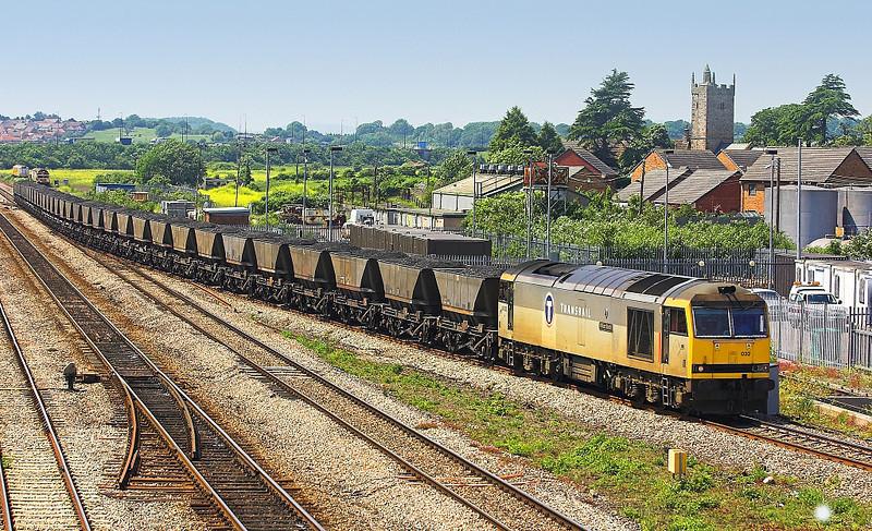 9th Jun 06: 60032, 6V35, Loaded coal from Park Slip to Westbury