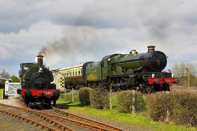 16th Apr 06:  Other Didcot pictures are in my Steam Trains Gallery