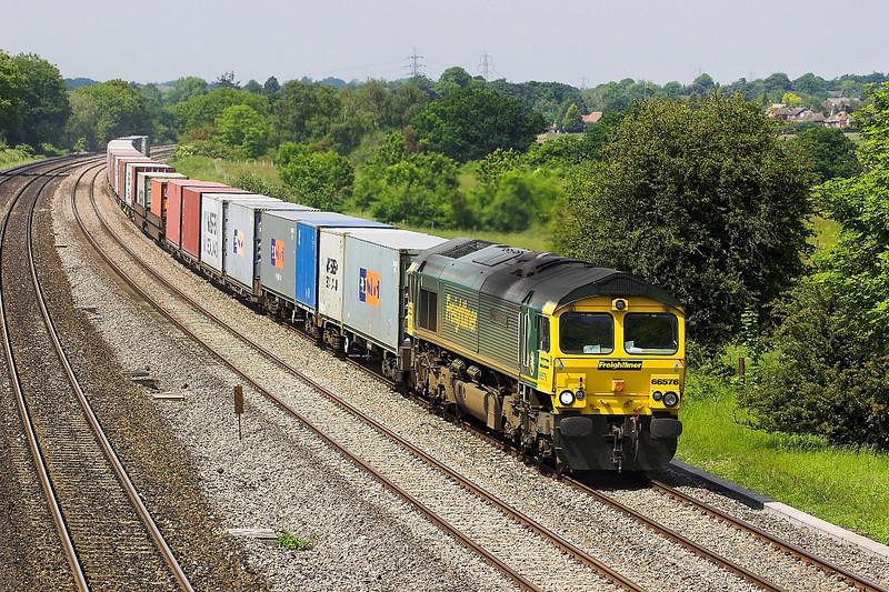 6th Jun 06:  66576, 4O27 Ditton to Southampton