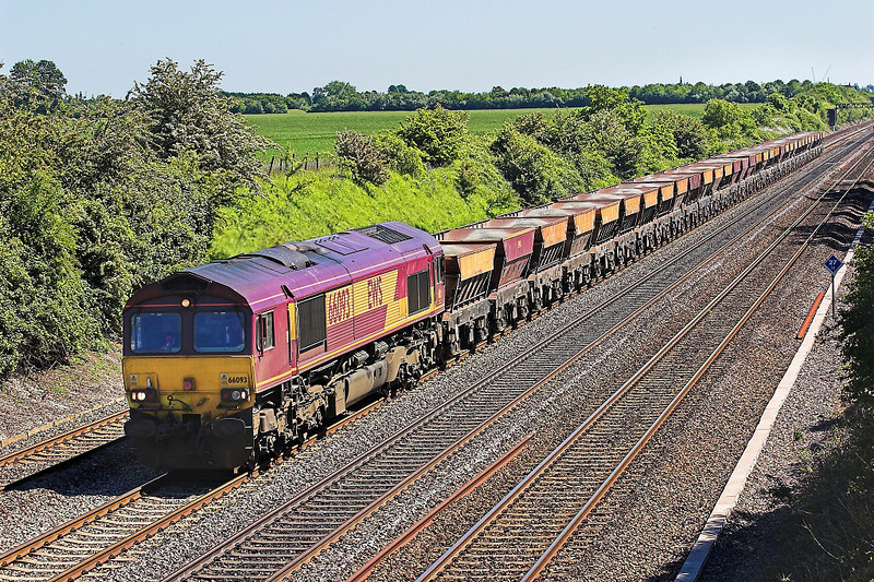 3rd  Jun 06:  66093, 6C23 Hayes to East Usk