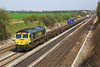 22nd Apr 06:  66575. 5O54 Leeds to Southampton at Shottesbrooke.