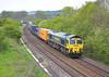 6th May 06:  66503, 4O54 Leeds - Southampton snakes through Sherrington