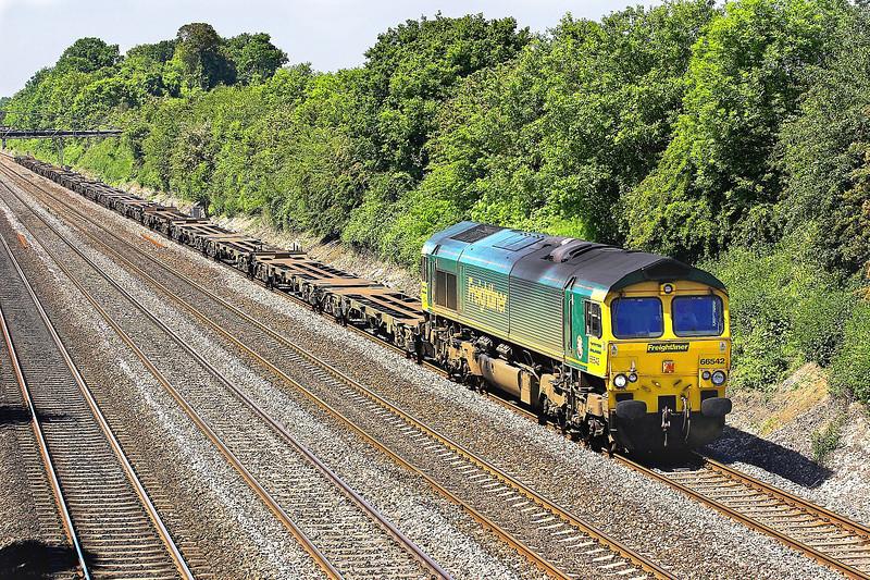 3rd Jun 06:  66542,4M55 Southampton to Leeds