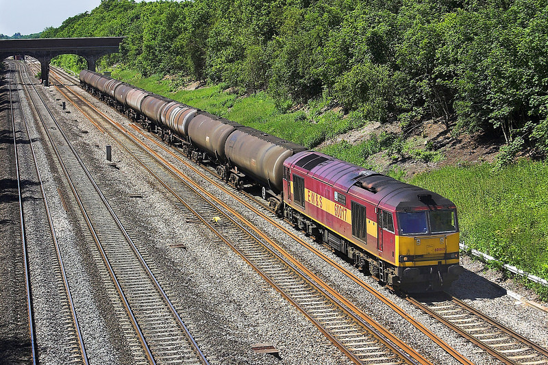 3rd Jun 06:  60017, 6Z41, Theale to Lindsey empty Tanks