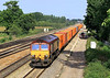 8th Aug 06:  66248, 4O53 Wakefield Europort to Southampton Intermodal leaving Didcot