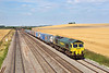 8th Aug 06:  66505 Rolls east with more containers for Southampton