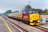 29th Aug 06:  37405 thunders through Twyford with 1Z27 from Bristol Temple Meads to Eastbbourne for the annual air display