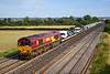 8th Aug 06:  In perfect light 66183 with a full load of Ford vehicles heads for Bescot from Southampton Western Docks