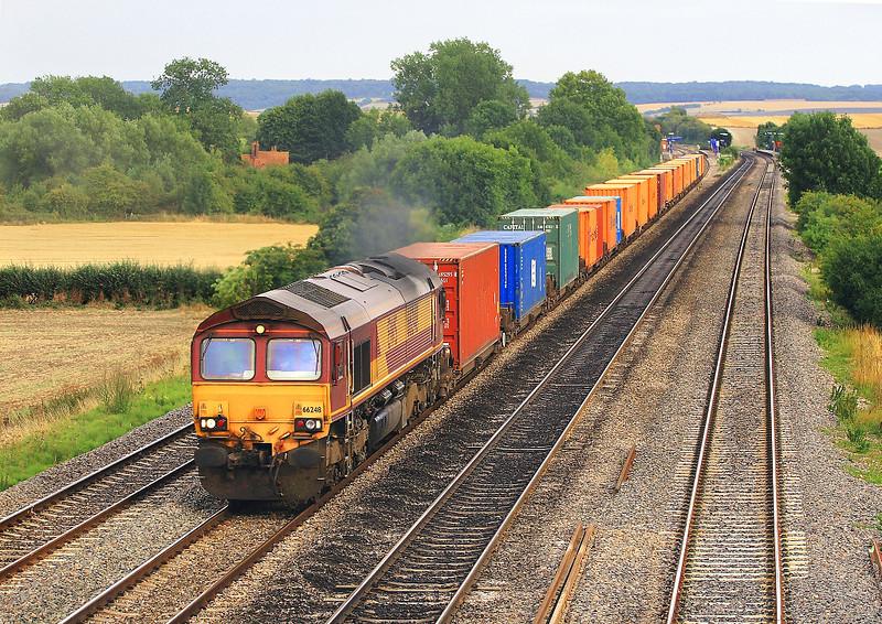 8th Aug 06:  66248, Southampton to Wakefield Europort Intermodal service