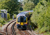 29th Aug 06:  450112 leads 450111 as 2U46 the 15.01 from Windsor nears Staines