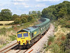 30th Aug 06: 66515 is in charge of the diverted Calvert to Bath & Bristol empty Binliner at Frouds Lane, Woolhampton