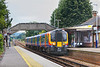 29th Aug 06:  450058 hits the grade and enters the station with the 09.31 from Guildford