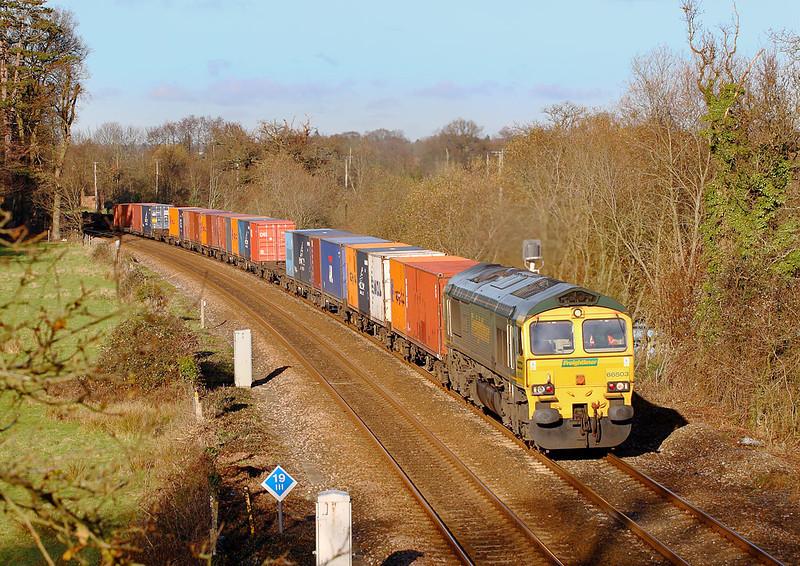 0th Dec 06:  66503 at Spaniards Lane brings 4O14 from Garston
