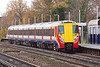 5th Dec 06  158015 on 5B40 the return leg of its test run to Eastleigh.   Byfleet & New Haw