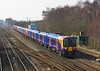 26th Mar 06:  Pioneer Desiro 450001 leads 082 and 108 towards Basingstoke