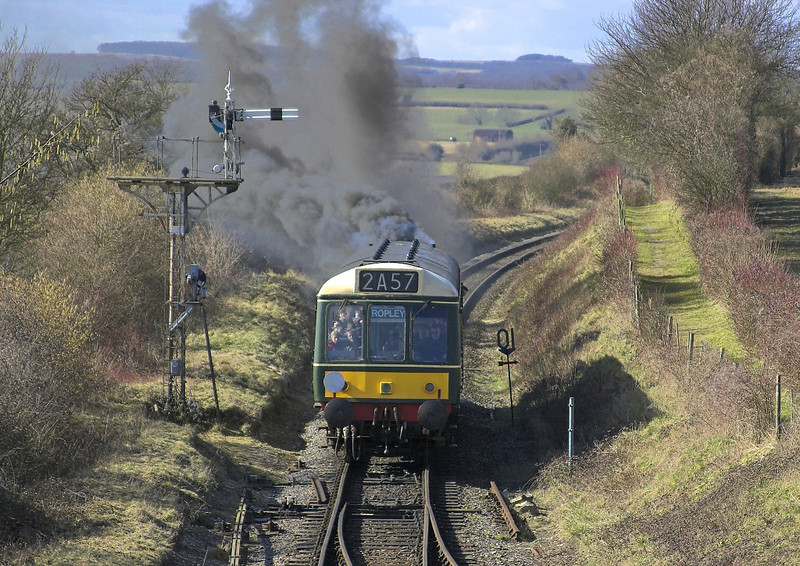 8th Mar 06: The Push/pull service enters Ropley