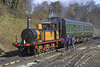 8th Mar 06: Stepney gets a rest after her exertions up the hill
