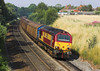 4th Jul 06:  67001 heads to Birch Coppice with the 09.09 from Bescot