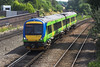 4th Jul 06:  170512 has crossed over and briefly run Wrong Line to gain access to the platform
