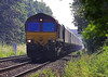 4th Jul 06: 66237 on the Nuneaton Line with loaded HTAs