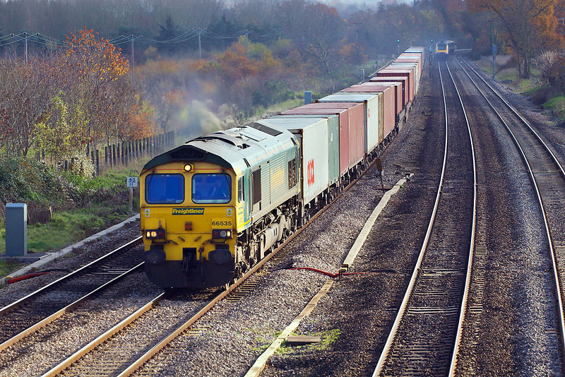23rd Nov 06:  66535 with a full load