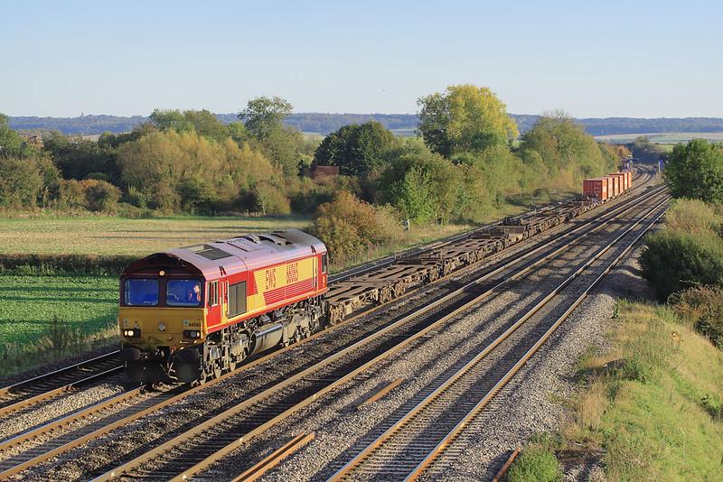 2nd Nov 06:  66065  4M39 Intermodal to Birch Coppice