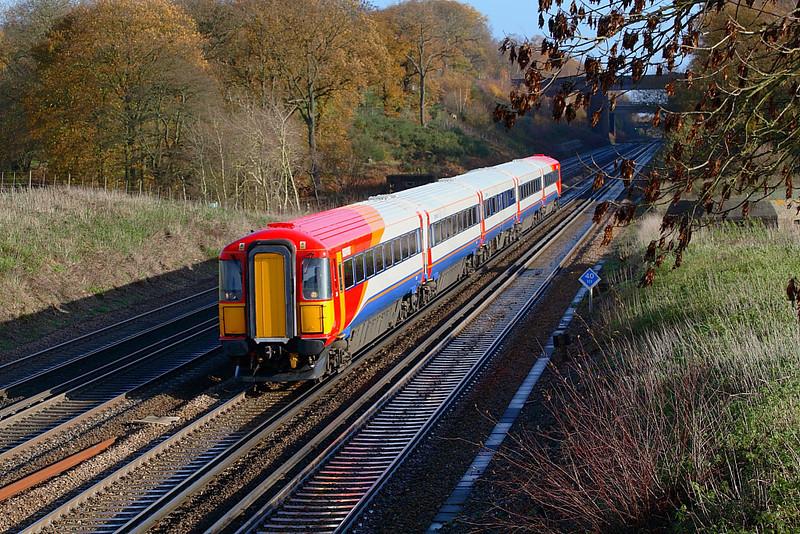29th Nov 06:  442411 makes a fine sight in the late Autumn sunshine