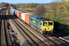 23rd Nov 06:  66578, Wentloog to Southampton.  It is unusual for this service to be fully loaded.