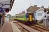 16th Oct 06:  156418 entering Saxmundham bound for Lowestoft. Sunday 15th