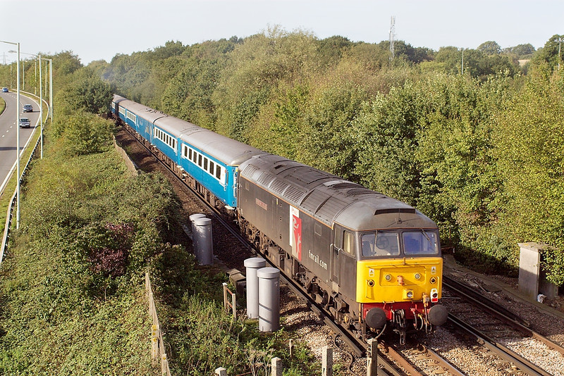 7th Oct 06: 47832 tails the Blue Pullman