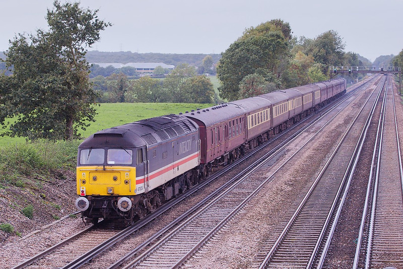 25th Oct 06:  47825 will head the tour home
