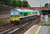 16th Aug 06:  9002 enters the station with 6V66 Purley to Acton Yard