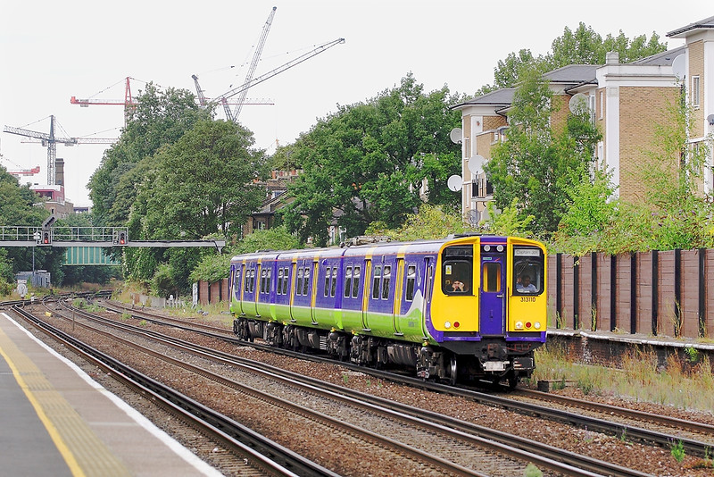 16th Aug 06:   313110 formed the Willesden Junction to Clapham shuttle.  The wheels felt like they were square !