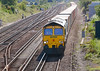 25th Aug 06:  66538 returns north with 6S59 to Coatbridge