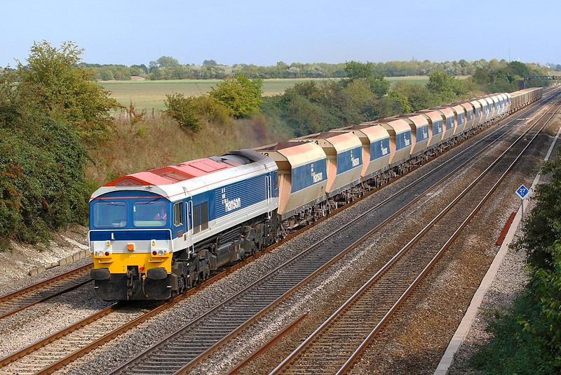 11th Sep 06:  59103 wheels 6C77 empties from Acton Yard to Merehead